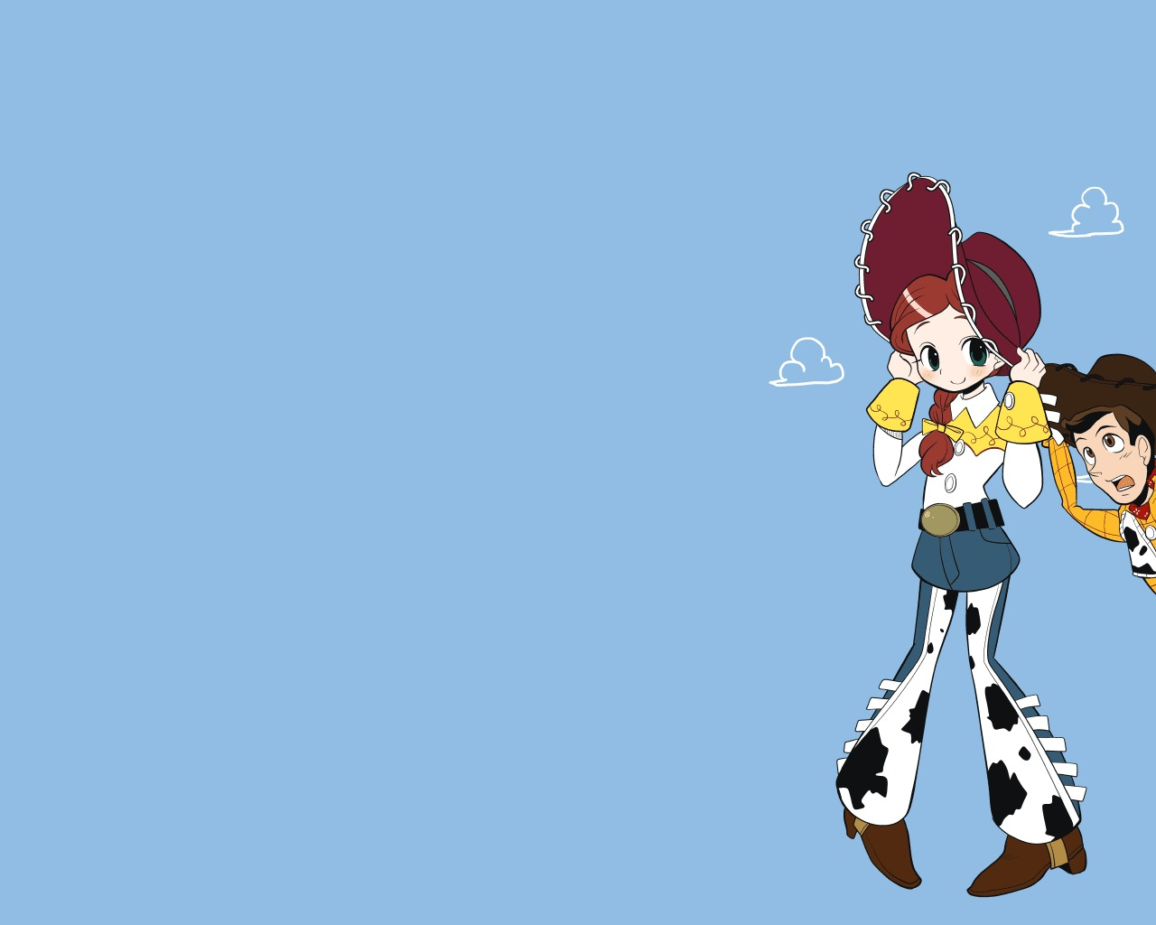 Tags Anime Toy Story Jessie Woody Cow