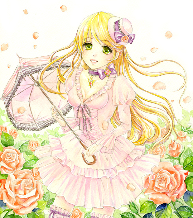 Tags: Anime, Toyoda Izumi, Original, Traditional Media, Pixiv