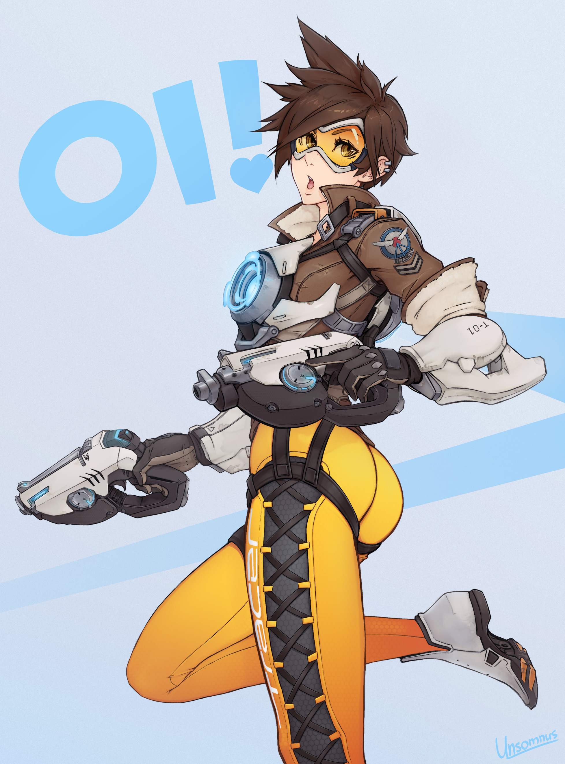 Tracer Overwatch Mobile Wallpaper 2037961 Zerochan Anime