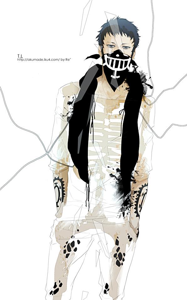 Tags: Anime, Re°, ONE PIECE, Trafalgar Law, Fanart, Mobile Wallpaper, Pixiv, Fanart From Pixiv, Heart Pirates