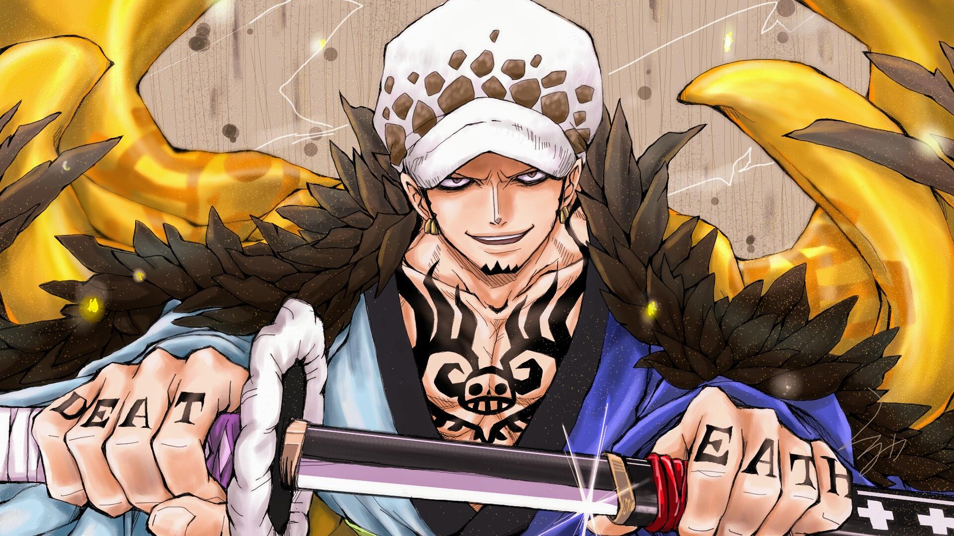 Trafalgar Law One Piece Wallpaper 2675514 Zerochan Anime