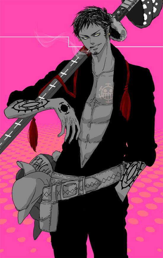 Tags: Anime, Sassaman, ONE PIECE, Trafalgar Law, Mobile Wallpaper, Heart Pirates, The Eleven Supernovas