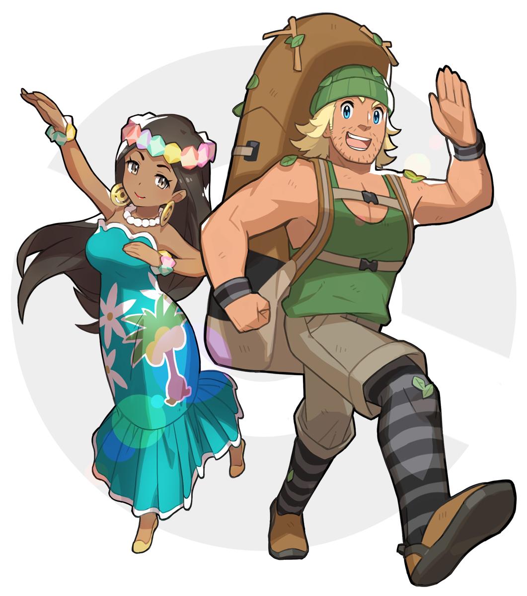 hiker pokémon zerochan anime image board