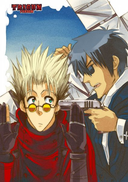 Tags: Anime, AnHellica, Trigun, Vash the Stampede, Nicholas D. Wolfwood