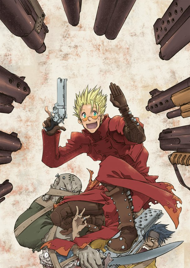 Tags: Anime, Yoshimatsu Takahiro, Trigun, Vash the Stampede, Trigun Badlands Rumble, Trench Coat