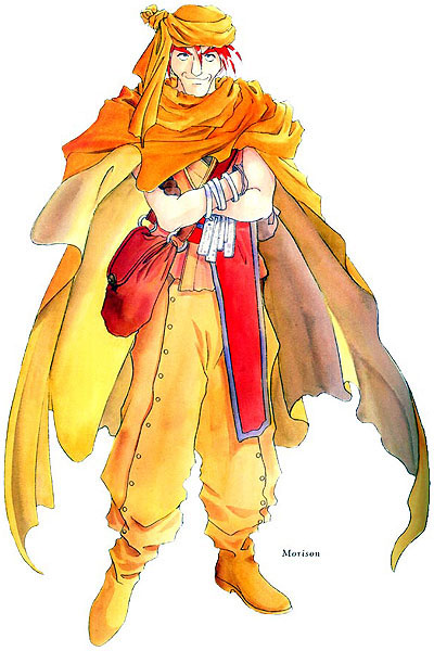 Tags: Anime, Fujishima Kousuke, Tales of Phantasia, Trinicus D. Morrison, Official Art