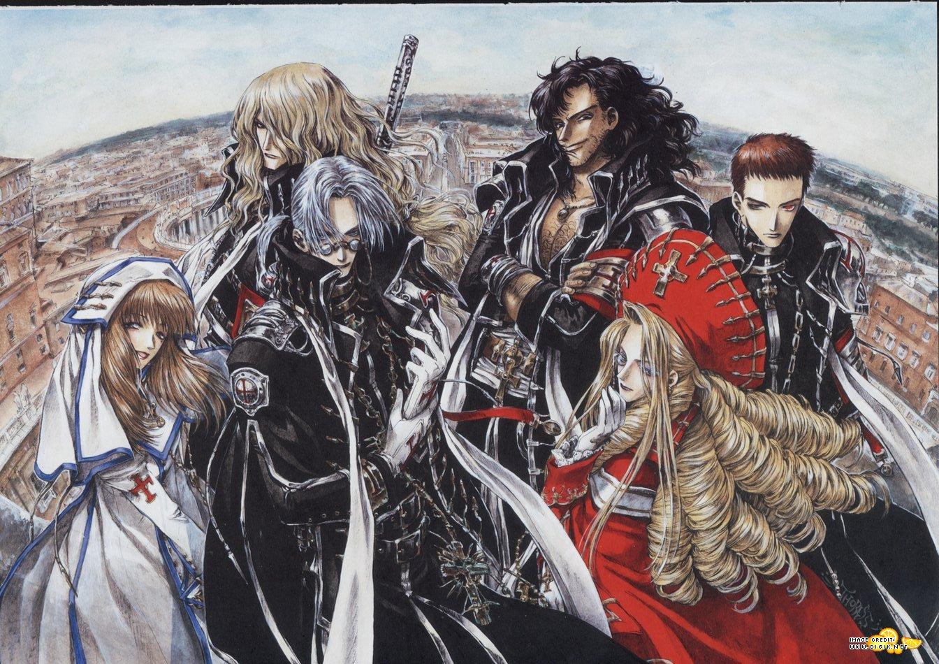 Tags: Anime, Shibamoto Thores, Trinity Blood, Hugue de Watteau, Kate ...