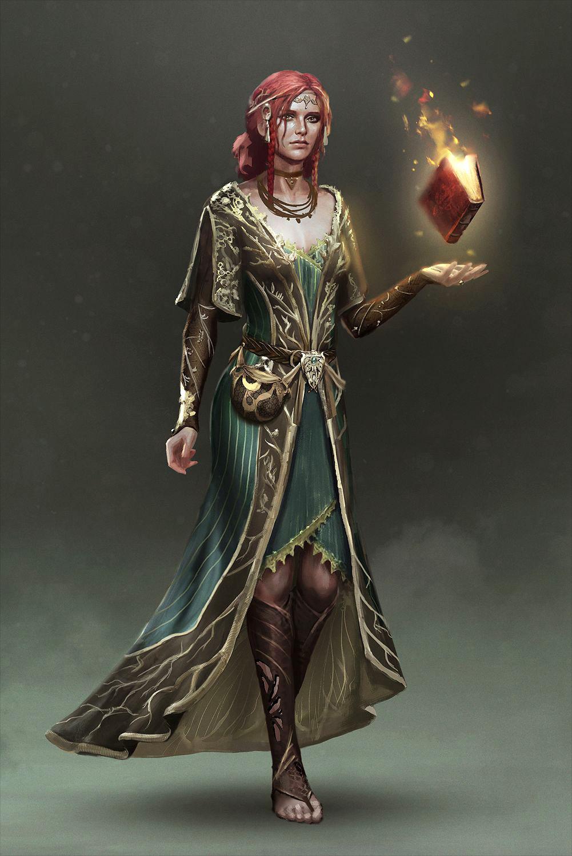 witcher 1 triss