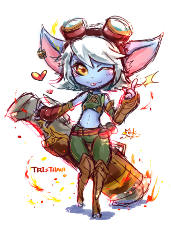 League of legends tristana hentai