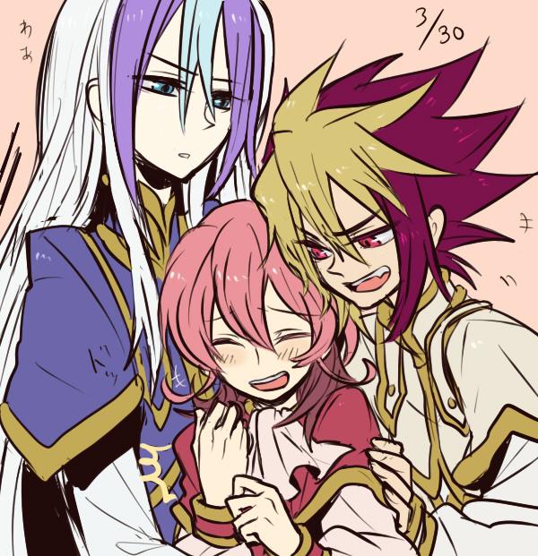 Tags: Anime, Pixiv Id 948749, Yu-Gi-Oh! ZEXAL, Yu-Gi-Oh!, III (Yu-Gi-Oh! ZEXAL), V (Yu-Gi-Oh! ZEXAL), IV (Yu-Gi-Oh! ZEXAL), Fanart, Pixiv, Tron Family, Vetrix Family