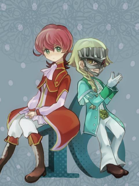 Tags: Anime, Pixiv Id 181399, Yu-Gi-Oh!, Yu-Gi-Oh! ZEXAL, Byron Arclight, III (Yu-Gi-Oh! ZEXAL), Father And Son