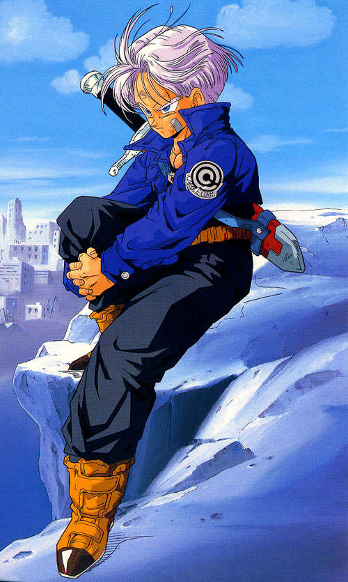 Trunks Briefs Mobile Wallpaper Zerochan Anime Image Board