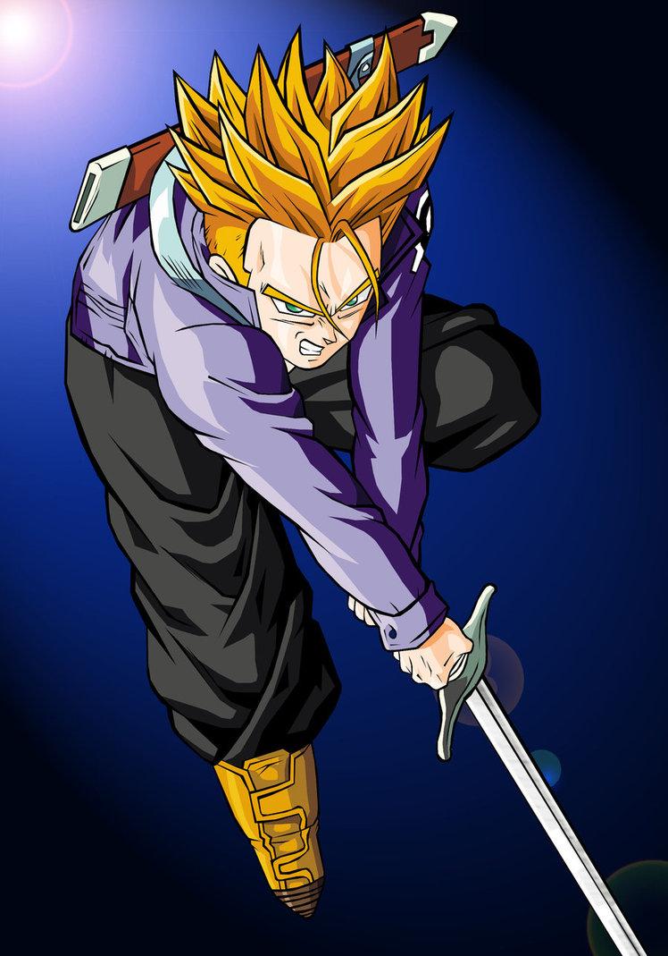 Dragon Ball Z Future Trunks Super Saiyan