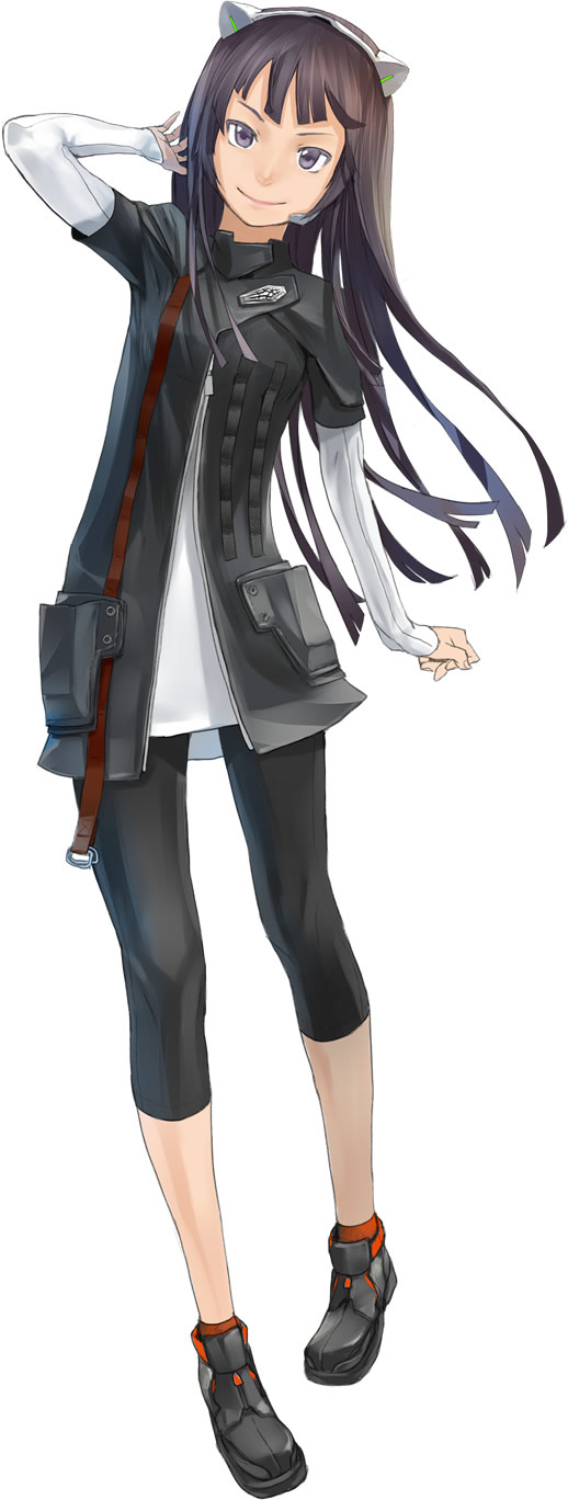 Tags: Anime, redjuice, GUILTY CROWN, Tsugumi (GUILTY CROWN), Capri Pants, Official Art, Funeral Parlor
