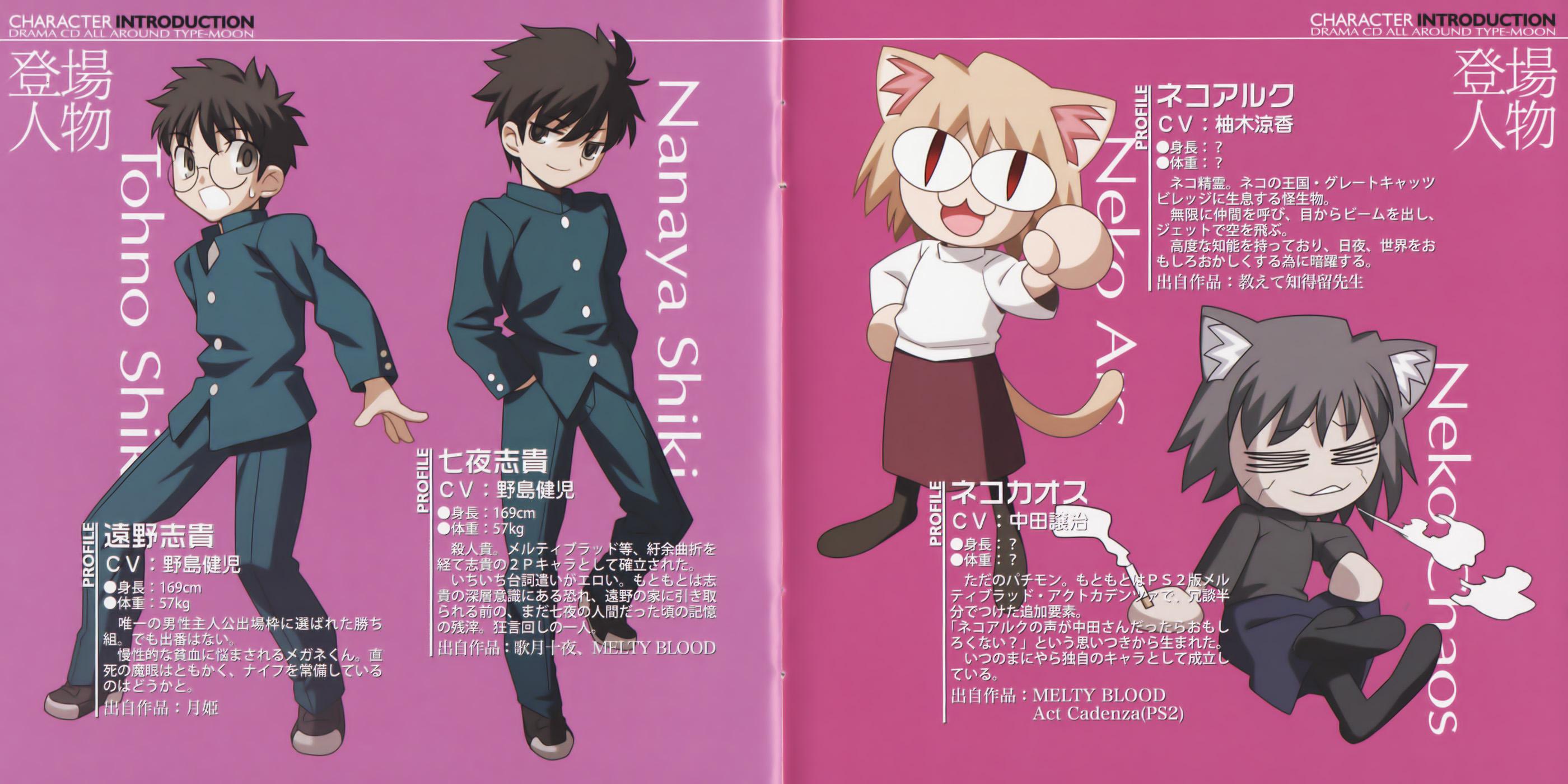 Neco Arc Chaos Melty Blood Zerochan Anime Image Board