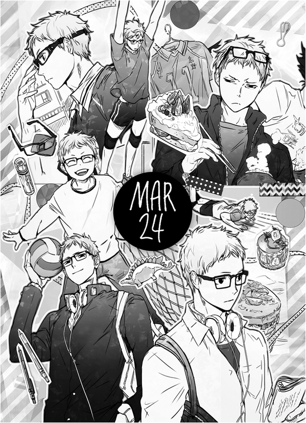 Tags: Anime, ZIS, Haikyuu!!, Tsukishima Kei, Mobile Wallpaper