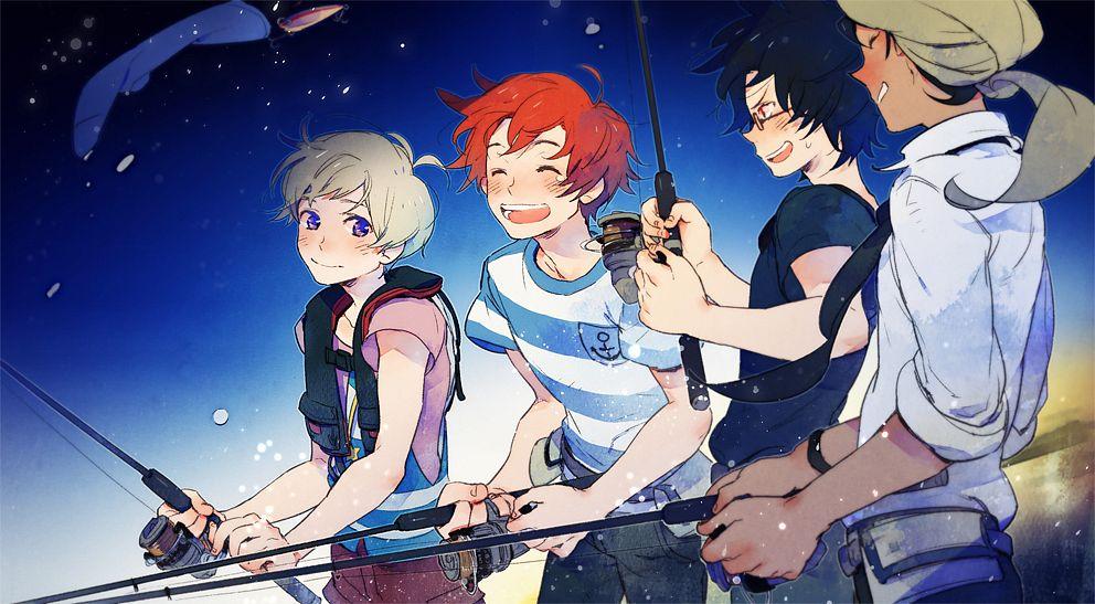 Топ-20 аниме, создающего летнее настроение