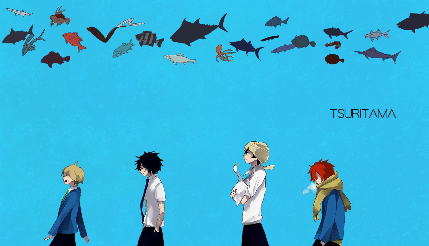 Tsuritama Image Zerochan Anime Image Board