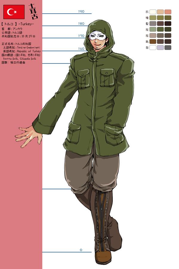 Tags: Anime, Pixiv Id 2010392, Axis Powers: Hetalia, Turkey, Mediterranean Countries
