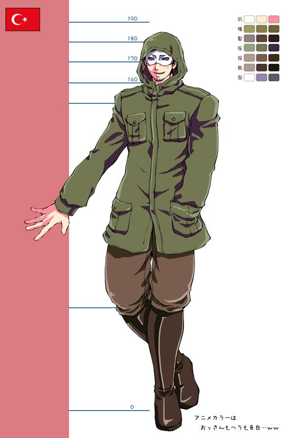 Tags: Anime, Pixiv Id 2010392, Axis Powers: Hetalia, Turkey, Fanart, Pixiv, Mediterranean Countries