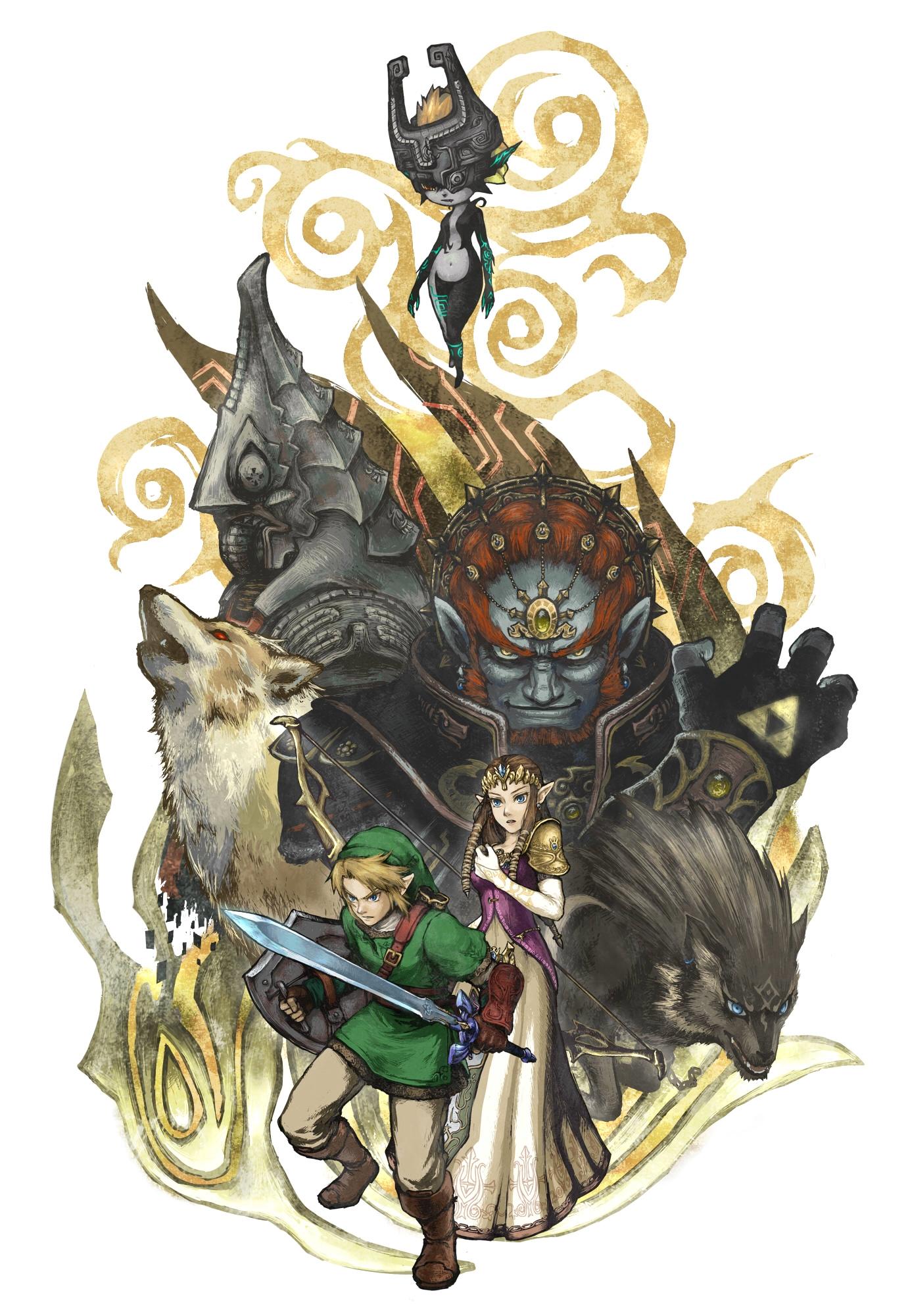 Twilight Princess (Game) - Zelda no Densetsu - Mobile ...
