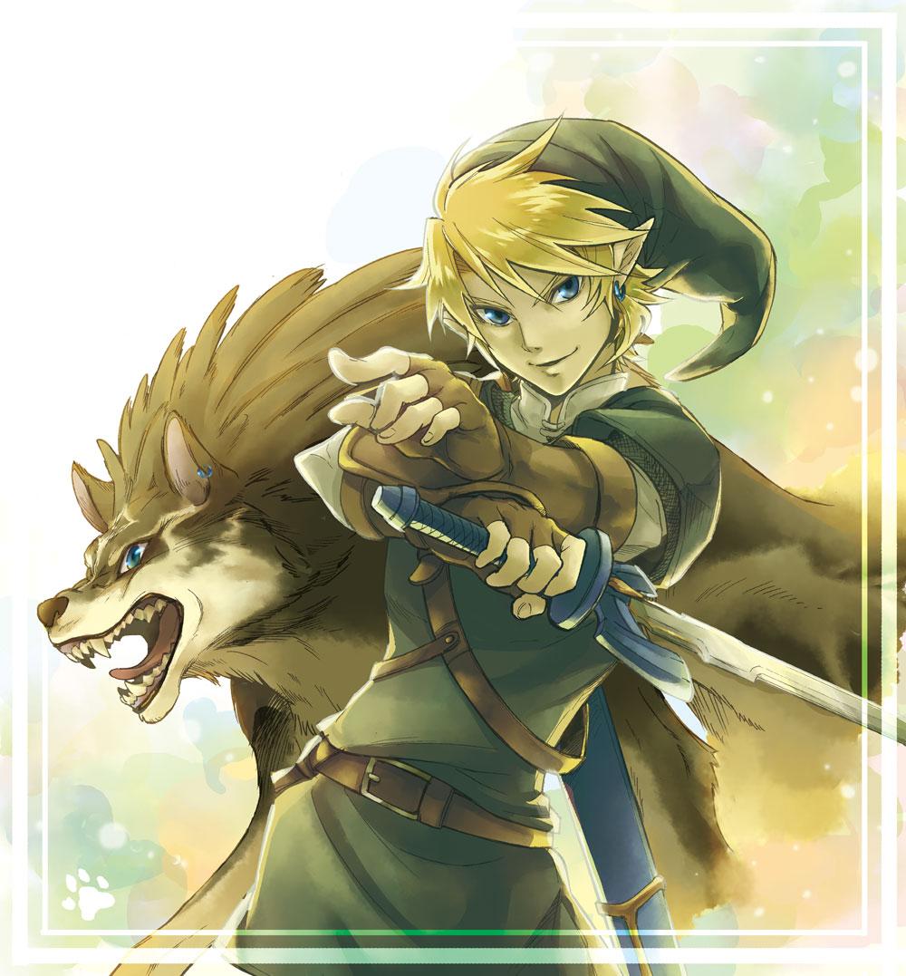 tags anime pixiv id 349014 zelda no densetsu twilight princess game - Link Et Zelda