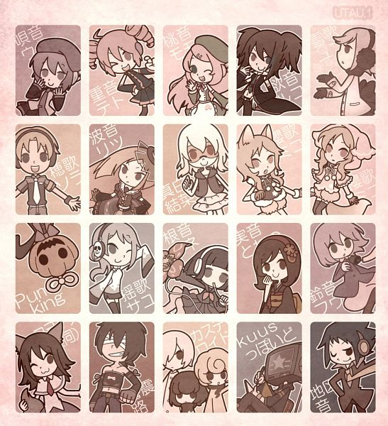 Tags: Anime, Hakusairanger, UTAU, Nene Nene, Defoko, Ooka Miko, Kasane Teto