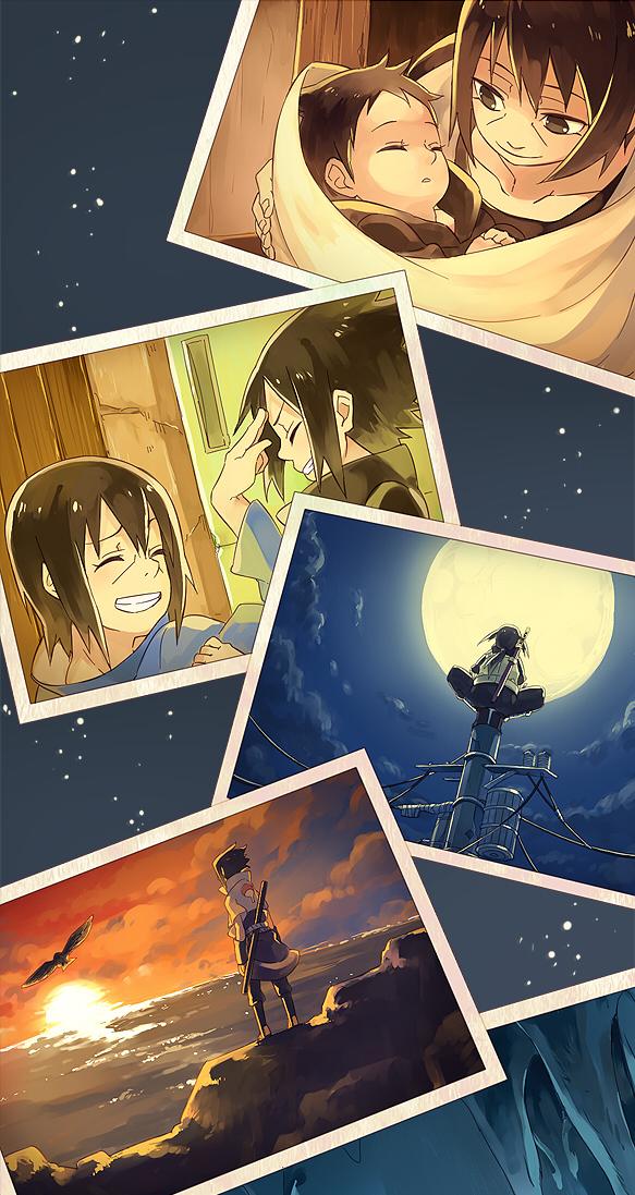 Tags: Anime, Ryolove, NARUTO, Uchiha Itachi, Uchiha Sasuke, Fanart, Pixiv, Mobile Wallpaper, Uchiha Brothers