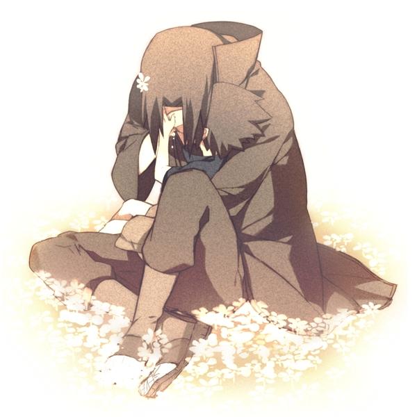 Tags: Anime, Pixiv Id 3098881, NARUTO, Uchiha Itachi, Uchiha Sasuke, PNG Conversion, Fanart, Pixiv, Uchiha Brothers