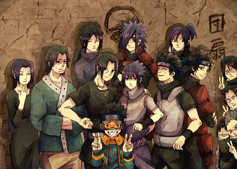 View Fullsize Uchiha Clan  Uchiha Clan Members