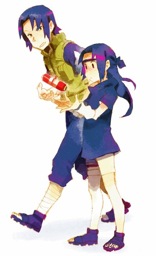 Tags: Anime, NARUTO, Scroll, Little Girl, Walking, Uchiha Mikoto ...