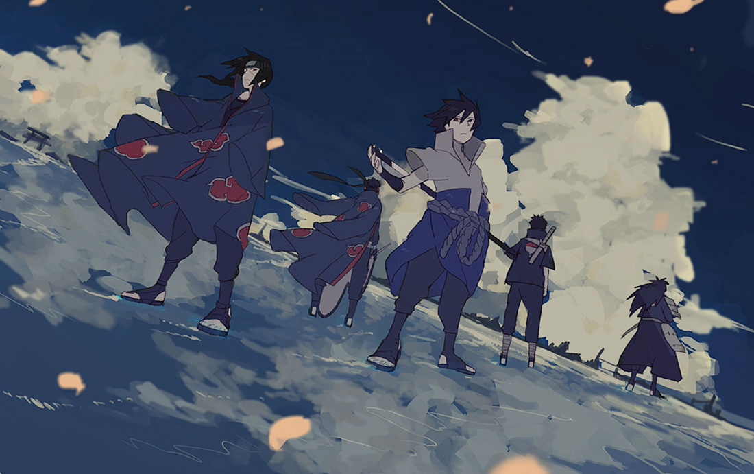 Uchiha Brothers Naruto Zerochan Anime Image Board