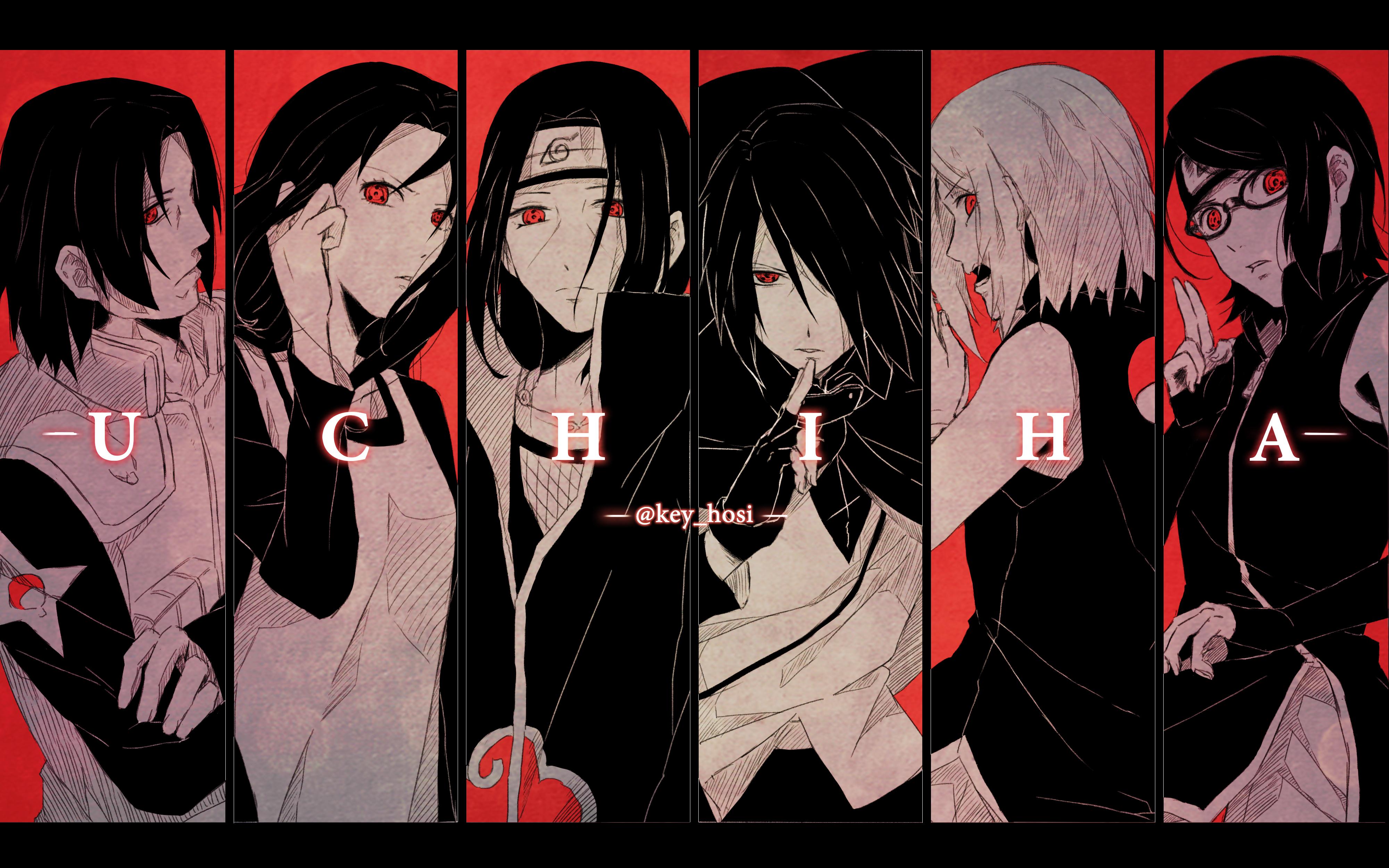 uchiha clan naruto hd wallpaper 2063811 zerochan anime image