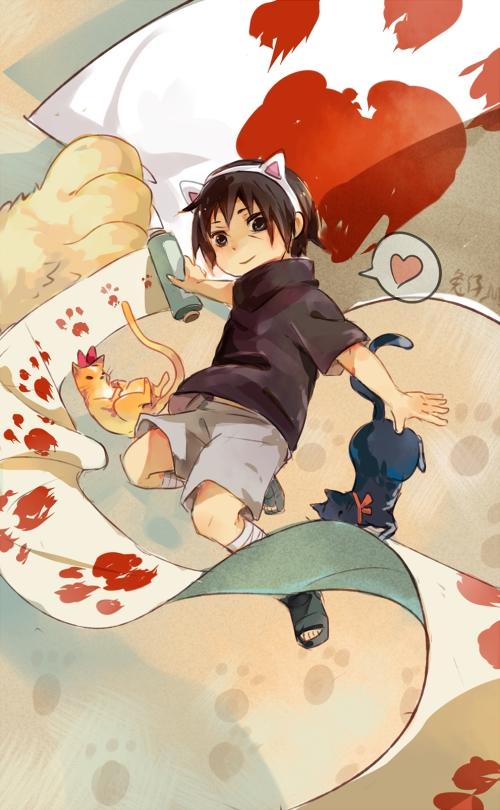 Tags: Anime, Usagi (Pixiv1723159), NARUTO, Uchiha Itachi, Pixiv, Mobile Wallpaper, Fanart, Fanart From Pixiv