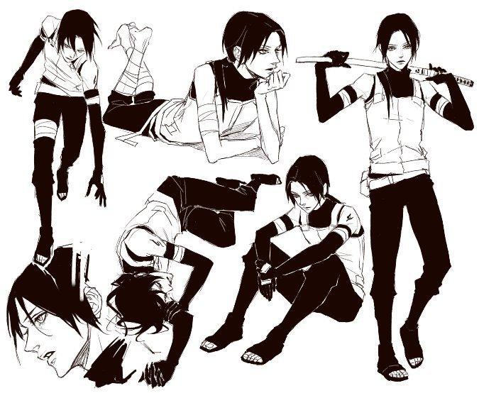 Tags: Anime, Lili Art, NARUTO, Uchiha Itachi, Anbu, Akatsuki (NARUTO)