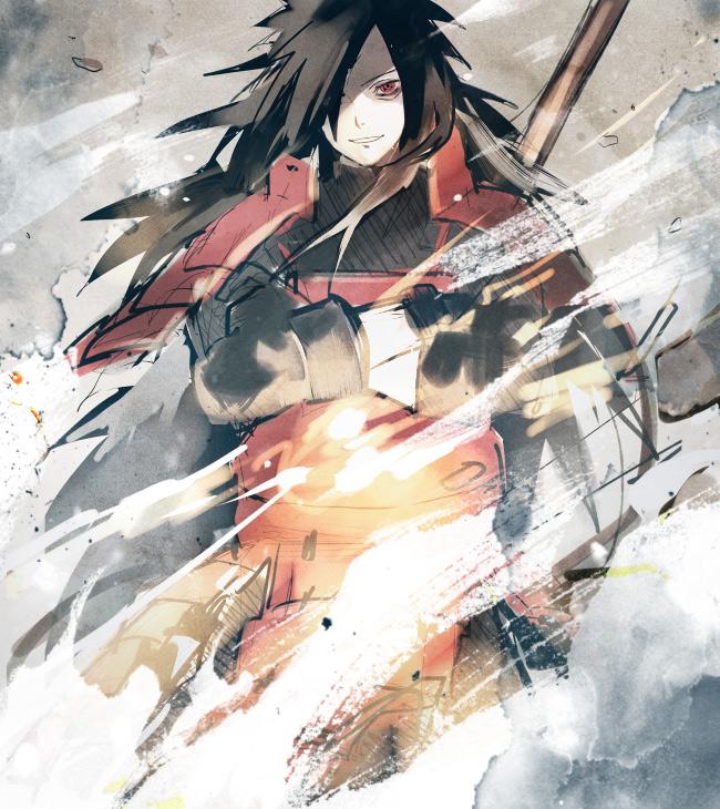 Tags: Anime, Pixiv Id 116039, NARUTO, Uchiha Madara
