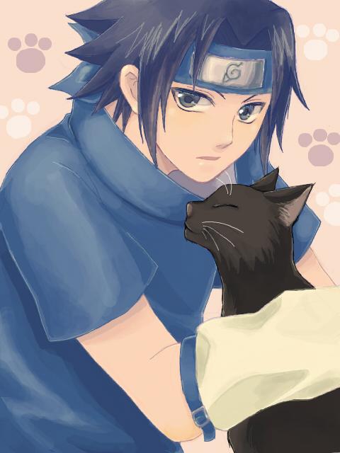 Uchiha Sasuke/#1330852 - Zerochan  Sasuke As A Cat