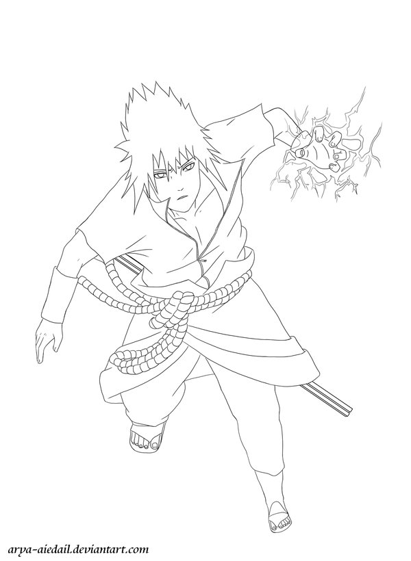 Kakashi Free Coloring Pages