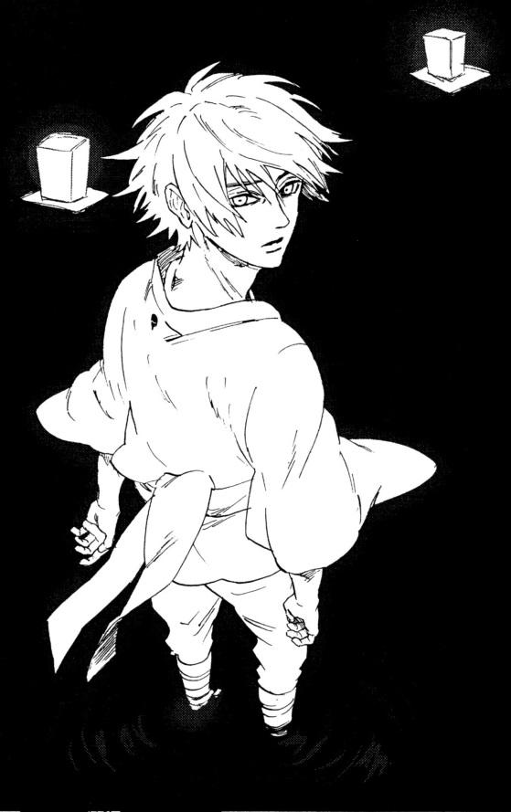 Tags: Anime, Fanart, NARUTO, Uchiha Sasuke, Doujinshi Page