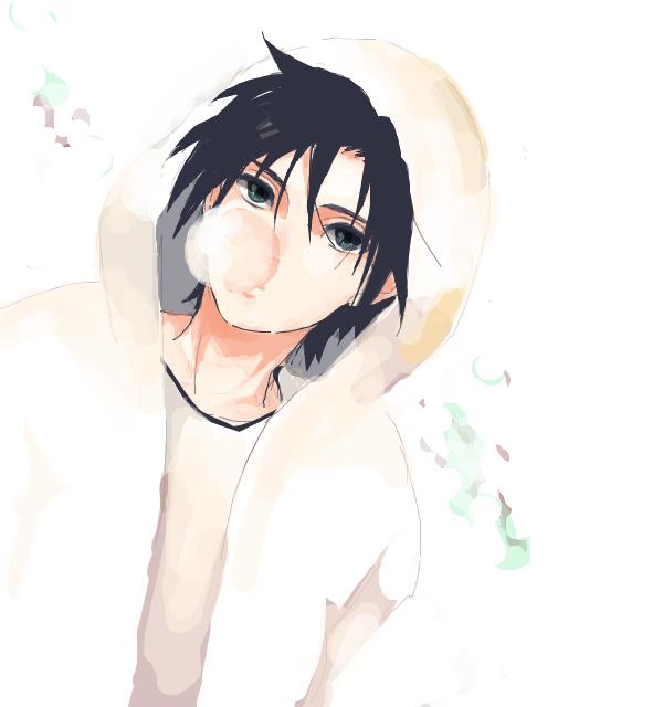 Tags: Anime, NARUTO, Uchiha Sasuke, Gum