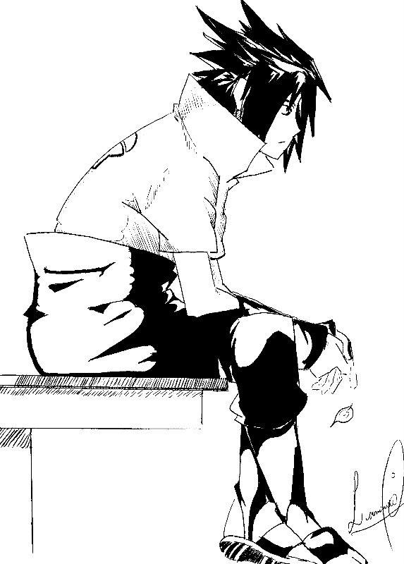 Tags: Anime, NARUTO, Uchiha Sasuke, Mobile Wallpaper, Artist Request, Fanart
