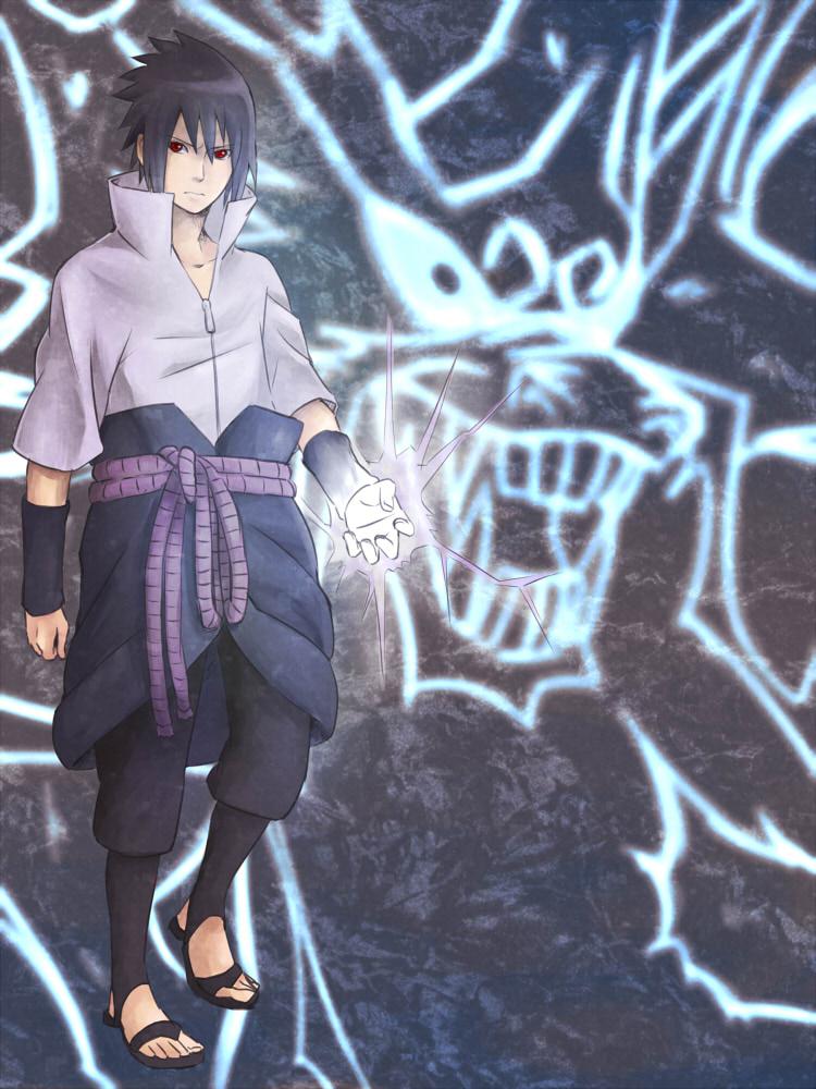 Sasuke Kirin View fullsize uchiha sasuke