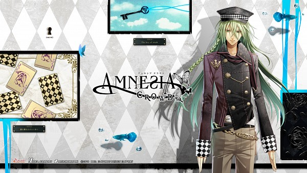 Tags: Anime, IDEA FACTORY, AMNESIA, Ukyo (AMNESIA), Numbers, Collarbone, Joker