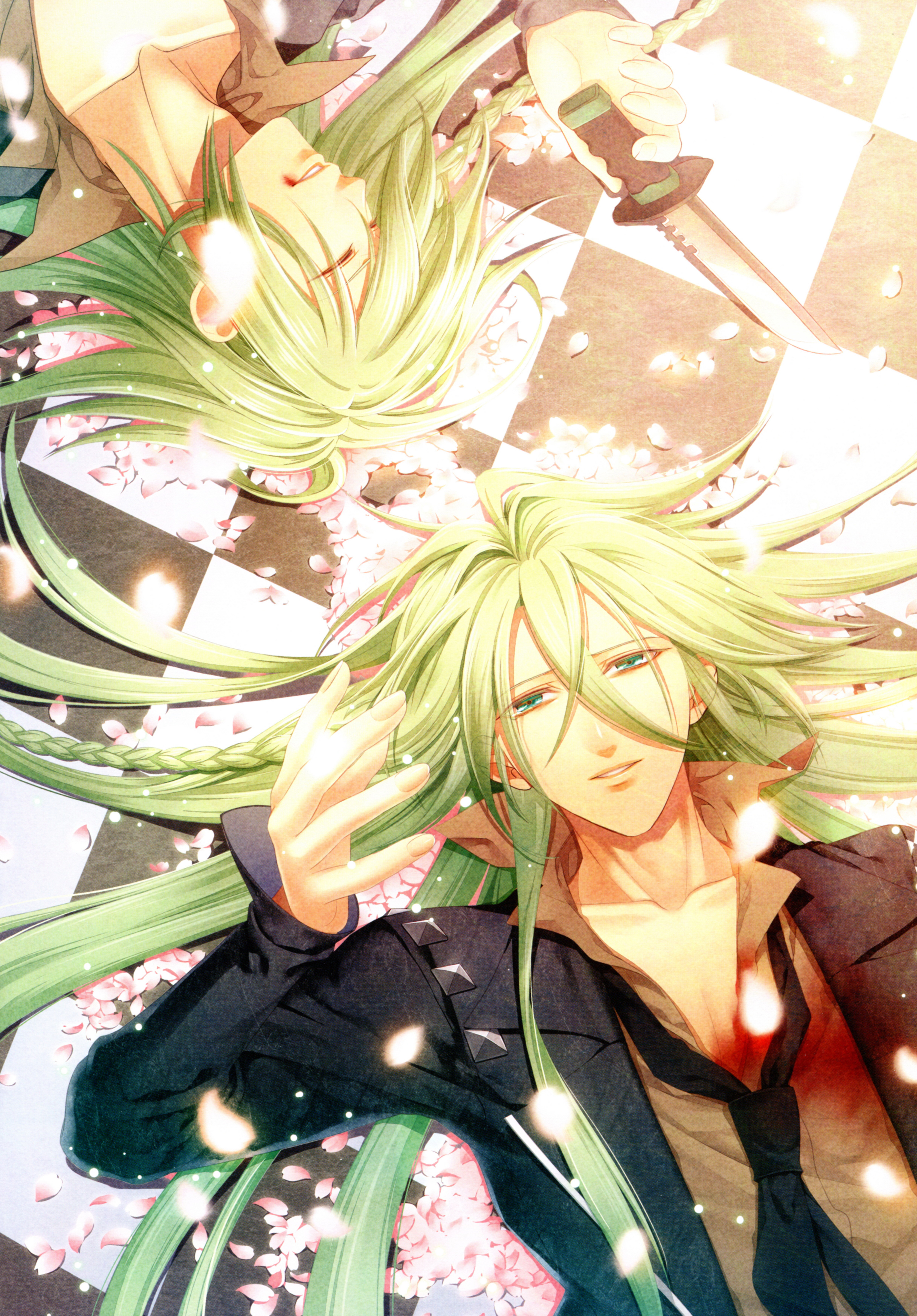 Ukyo Amnesia Mobile Wallpaper Zerochan Anime Image Board