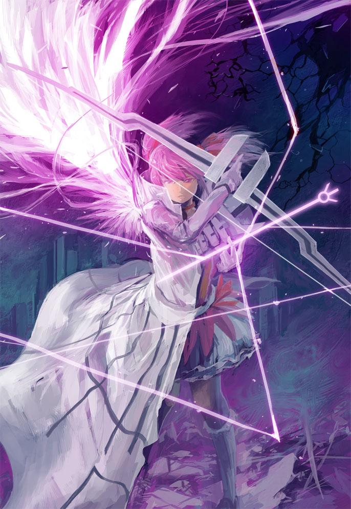 Ultimate Madoka (Mahou Shoujo Madoka☆Magica)  Mobile Wallpaper