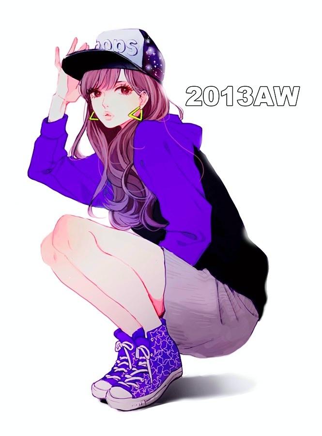 Tags: Anime, Uma-i-boh, Converse, Pixiv, Original