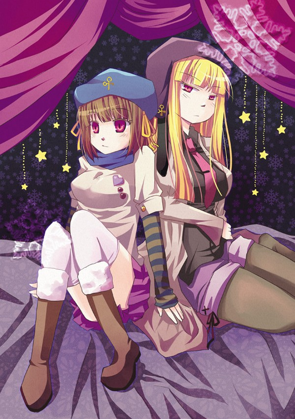 Tags: Anime, 07th Expansion, Umineko no Naku Koro ni, Gertrude (Eiserne Jungfrau), Cornelia (Eiserne Jungfrau), The Eiserne Jungfrau, When The Seagulls Cry
