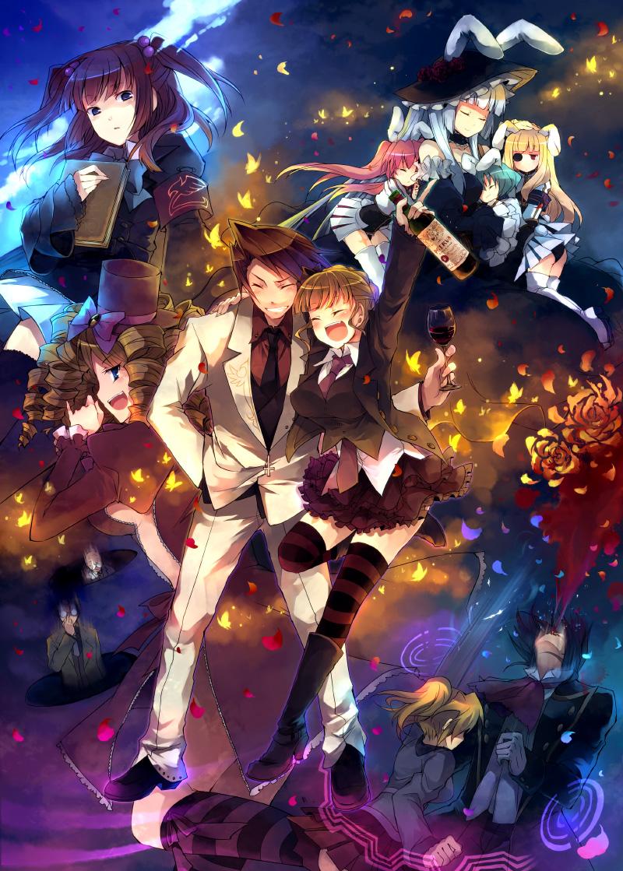 Umineko No Naku Koro Ni When The Seagulls Cry Mobile Wallpaper 34507 Zerochan Anime Image Board