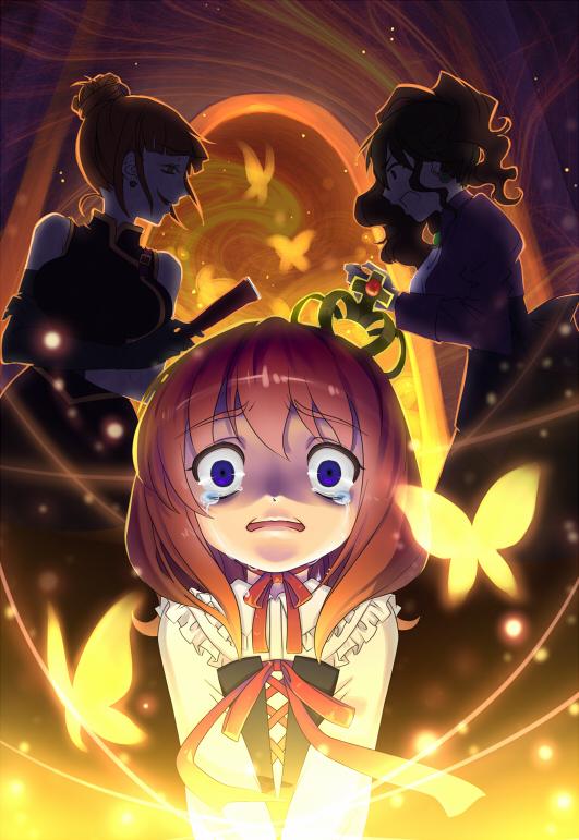 Tags: Anime, Akane (Xichris), 07th Expansion, Umineko no Naku Koro ni, Ushiromiya Natsuhi, Ushiromiya Eva, Ushiromiya Maria, Pixiv, When The Seagulls Cry