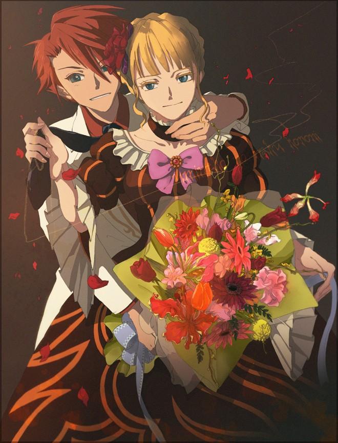Tags: Anime, 07th Expansion, Umineko no Naku Koro ni, Beatrice, Ushiromiya Battler, When The Seagulls Cry